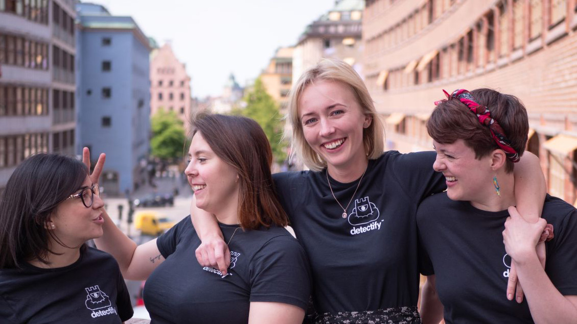 Females in tech - meet the HR team at Detectify