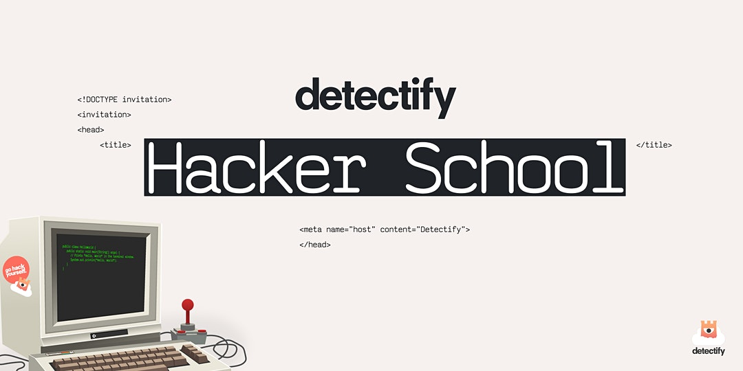 Detectify Hacker School